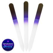 Bona Fide Beauty Crystal Nail File Black/Cobalt