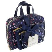 Adrienne Vittadini Women's Three Piece Cosmetic Bag Set
