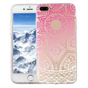Iphone 7 plus 14cm Case,Sunfei Ultra Slim Colourful Vintage Skin PC+TPU Hard Case Cover For iPhone 7Plus 14cm