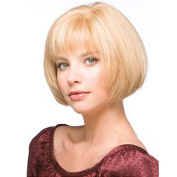 Styler Bob Women Wig Human Hair with Texture Side Bangs Paula Young Wigs for Women