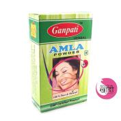 Ganpati Herbal Khadi Certified Amla Powder 200 Gms