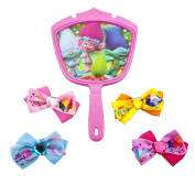 Trolls Hair Bows & Mirror
