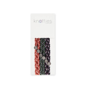 Knotties Braided Elastics, French Macaron