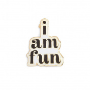 Ban.do Flair Pin I am Fun Headband