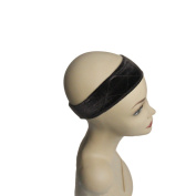 Ms Fenda Headband Flexible Velvet Wig Grip Scarf Head Hair Band Extra Hold Wig Adjustable design Comfort Headband