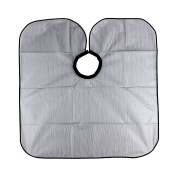 Waterproof Salon Apron Cape Hairdressing Barber Cape for Hair Dye and Shampoo Doubtless Bay