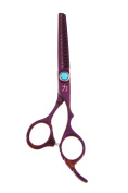 ShearsDirect Japanese Stainless 35 Tooth Professional Thinning Shear, Purple, 70ml