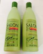 2pck - Spa Haus Salon 2 in 1 Shampoo and Conditioner 590ml