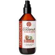 Arganatural Coconut Leave-In Seal & Shine Conditioner, 8 Fluid Ounce