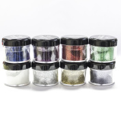 8pcs S.he Sparkle & Shine Loose Glitter Body Face Eyeshadow