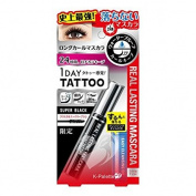 K-PALETTE 1 DAY TATTOO Real Lasting Mascara Super Black Limited with Cleansing Oil 2pcs