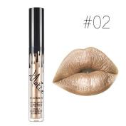 SHERUI 1PCS Waterproof Long Lasting Matte Liquid Lipstick Beauty Lip Gloss #02
