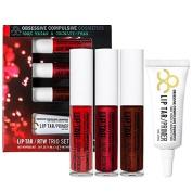 Obsessive Compulsive Cosmetics Lip Tar Trio Risque In Red LE