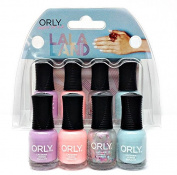 ORLY Mini Nail Lacquer - LA LA LAND (4 Colours x 0.18oz/5.3ml) #28324