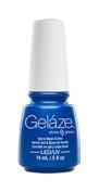 Gelaze Gel-N-Base Polish, Splish Splash, 0.5 Fluid Ounce
