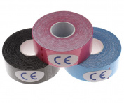 3 x Kinesiology Tape Elastic Sport Physio Muscle Strain Injury Support Care