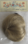 IMSCO Craft DOLL HAIR WIG Style M-100 Fits SIZE 15cm - 18cm Colour HONEY Synthetic JAPAN Fibre