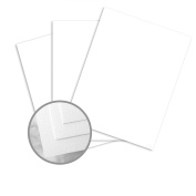 Linen Card Stock Heavyweight 36kg. White - 50 Sheets Per pack