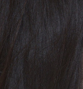 Hair Extentions - ClipIn Human Hair - Can Be Washed, Styled and Curled - Natural Dark Brown Colour
