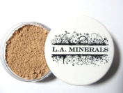 L.A. Minerals Valley Girl Matte Mineral Makeup Foundation Base-Medium Beige
