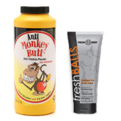 NO SWEAT BUNDLE! with Anti-Monkey Butt Powder 180ml and Fresh Balls Lotion 100ml