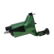 Redscorpion Rotary Tattoo Machine Gun,Japan Technology Motor,DC Clip Cord Space Aluminium Frame for Liner and Shader
