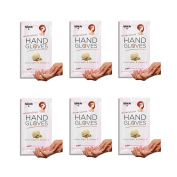Spa Life Moisturising Hand Gloves - Cocoa Butter & Vitamin E - Dermatologist Recommended Hand Healing Gloves 6 treatment