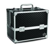 Caboodles Stylist 6 Tray Train Case, Black Diamond, 1.8kg