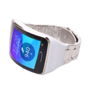 Voberry Stainless Steel Metal Watch Band Wrist Strap Bracelet For for Samsung Gear S SM-R750