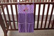 Baby Girl Purple Owl nappy stacker