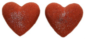 Bath Bombs Double Trouble 2 Red 90ml Heart Shaped Little RED Dress