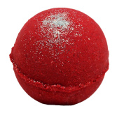 Bath Bomb Little RED Dress 160ml Bath Bomb w Kaolin Clay & Coconut Oil