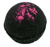Bath Bomb Black Cherry Bomb 160ml w Kaolin Clay & Coconut Oil