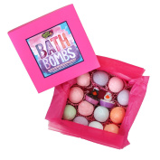 Sweet & Sassy Bath Bomb Gift Set for Girls & Teens. 12 Count Assorted.