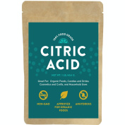 Citric Acid - For Bath Bombs, 0.5kg, 100% Food Grade Powder, Non-Gmo, Approved For Organic Foods, Cosmetics, Crafts and More!
