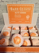 One Blood Orange Amber Scent Bath Bomb by Barr Co