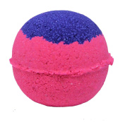 Bath Bomb 160ml Love Spell Skin Loving Purple & Pink w Coconut Oil & Kaolin Clay