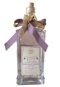 Erbario Toscano Lavender Bubble Bath 700ml In Decorative Glass Bottle From Italy