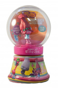 Dreamworks Trolls Poppy Bubble Bath Glitter Globe ~ Snow Globe