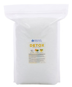 Detox Bath Salt 5.4kg Bulk Size -  .   - Epsom Salt Bath Soak With Ginger & Lemon Essential Oil Plus Vitamin C - All Natural No Perfumes No Dyes - Detoxify Your Body & Mind