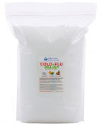 Cold & Flu Bath Salt 5.4kg Bulk Size -  .   - Epsom Salt Bath Soak With Rose Hip & Peppermint Essential Oils & Vitamin C - No Perfumes No Dyes - Natural Relief For Colds