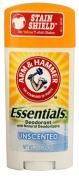 Arm & Hammer Essentials. Deodorant Unscented -- 70ml - 2pc