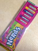 Rainbow Nerds - 6 Flavoured Lip Balms With Collectable Sliding Tin