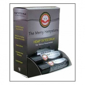 The Merry Hempsters Hemp Tattoo Salve Counter Display 20ml/12pc from The Merry Hempsters