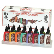 Kuro Sumi Tattoo Ink Set, Colour 16