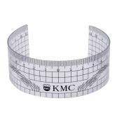 DZT1968 Microblading Reusable Makeup Brow Measure Eyebrow Guide Ruler Permanent Tools
