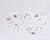 IMISSCC waterproof tattoo stickers Men's and women's persistent contains in-store all stickers