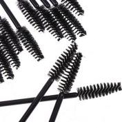 WellieSTR Lot of 200pcs(Black) Eyelash Eye Lash Makeup Brush Mini Mascara Wands Applicator Disposable Extension Tool