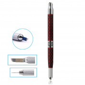 BQAN 1Pc Fashion Double-ended Eyebrow Tattoo Pen Manual Permanent Makeup Professional Tattoo Parts