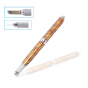 BQAN 1Pc Fashion Eyebrow Tattoo Pen Permanent Makeup Manual Eyebrow Microblading Pencil
